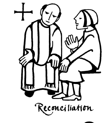 Confessional Clipart.
