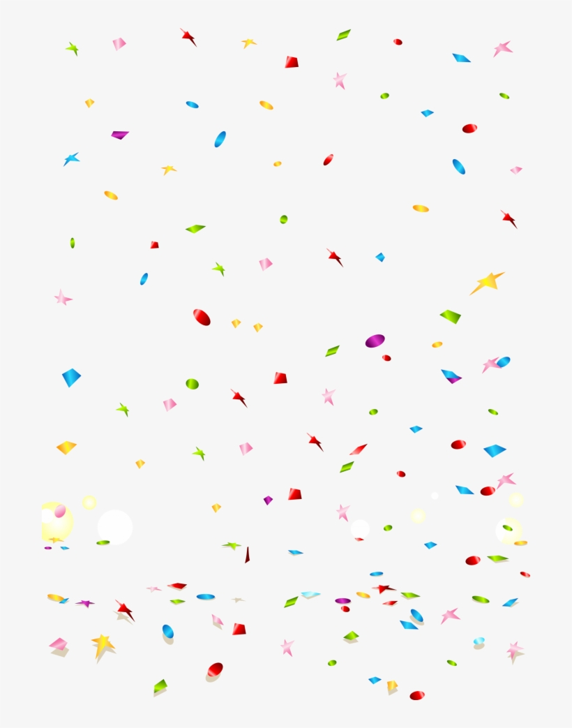 Confetti Transparent Background Png.