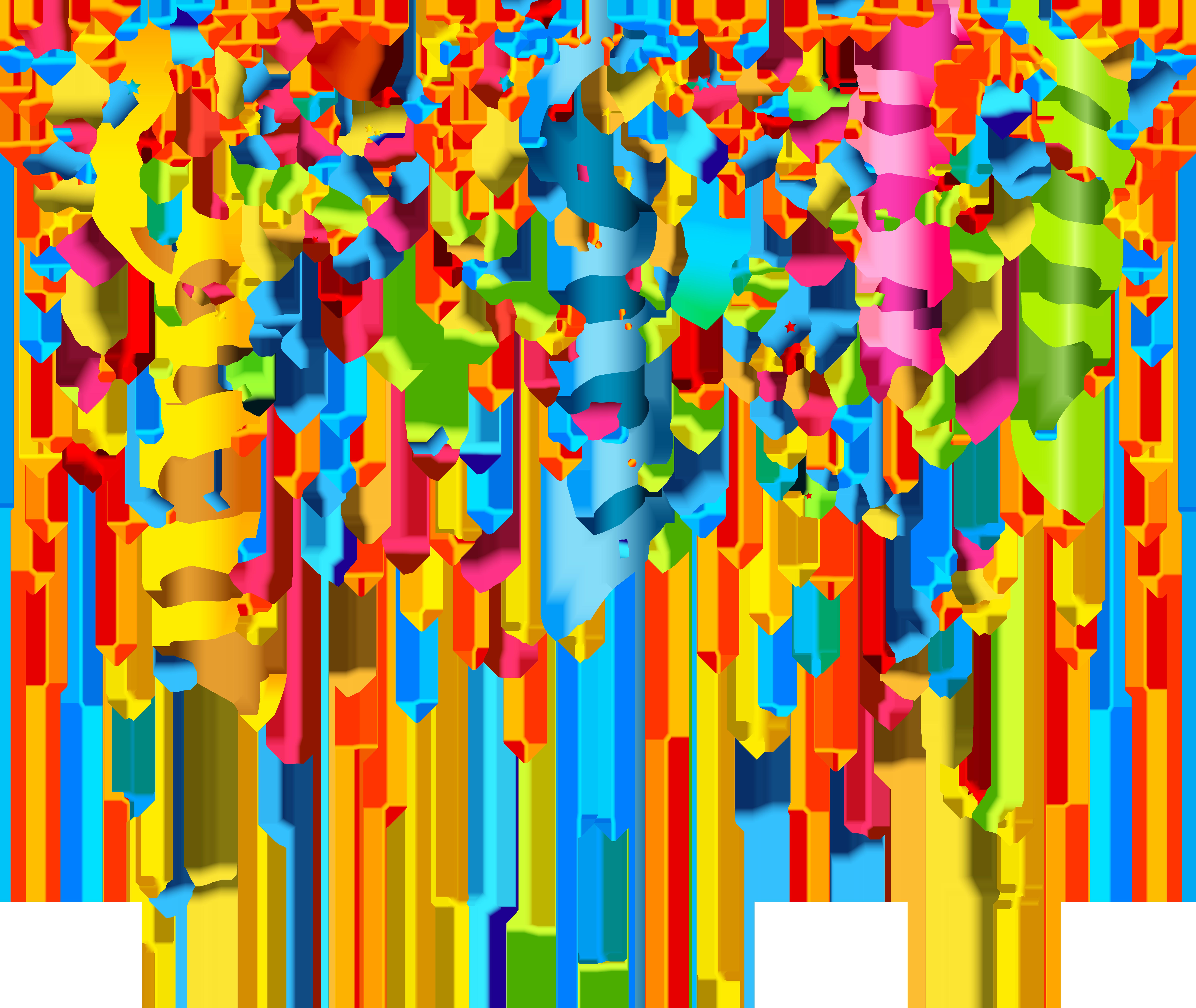 Confetti Transparent PNG Image.