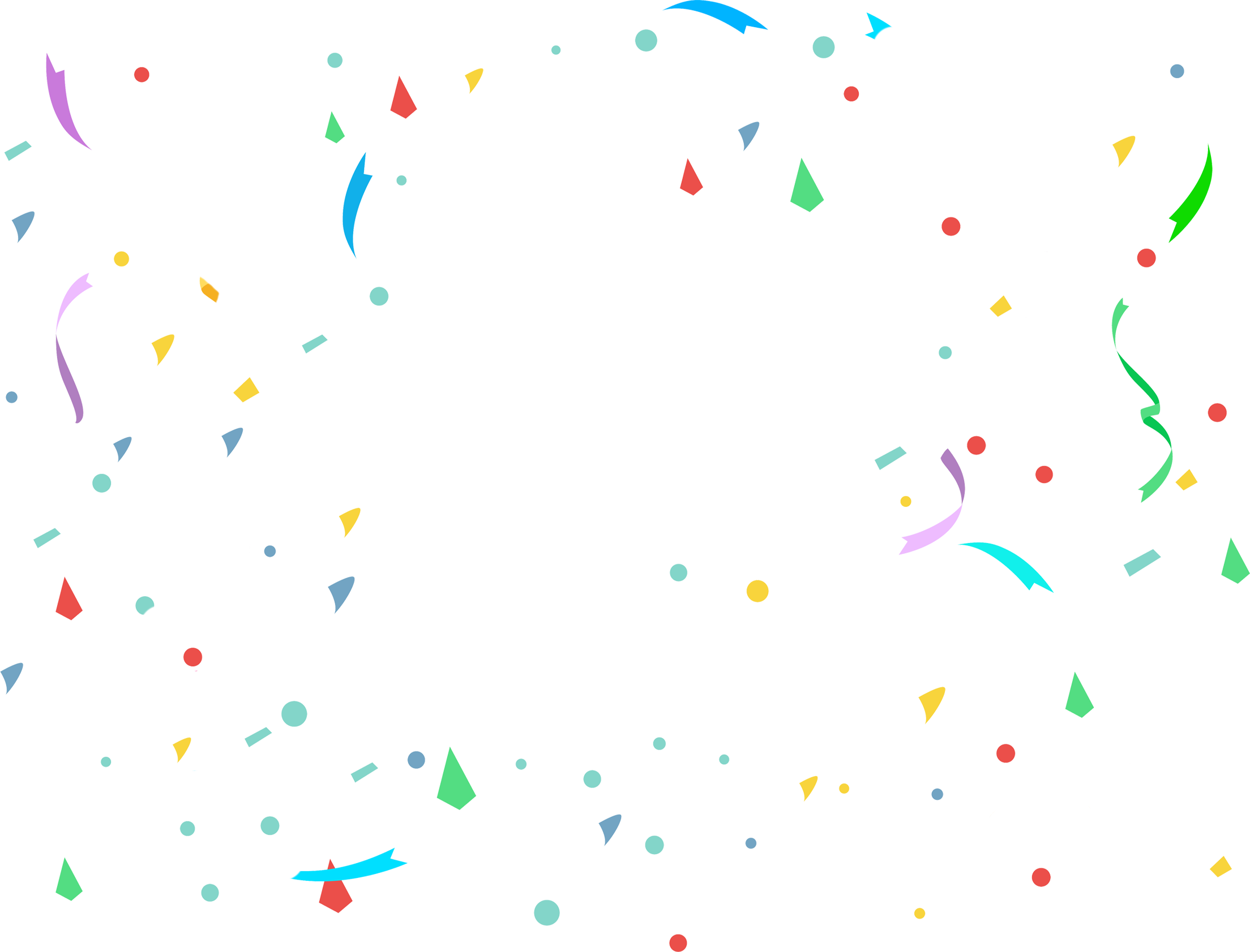 Download Confetti PNG Transparent Picture.