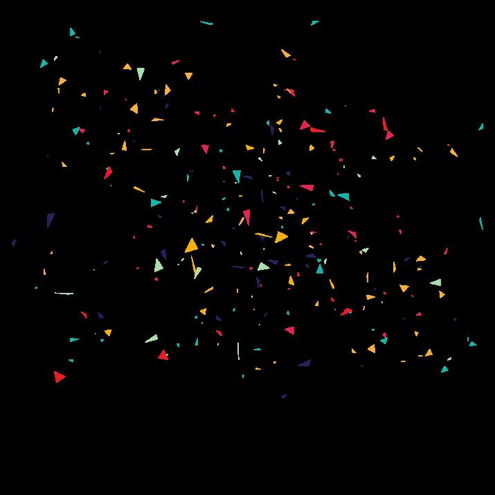 Confetti PNG.