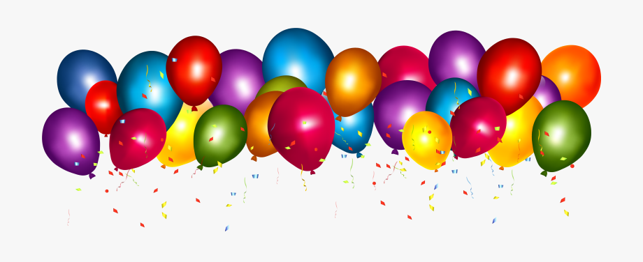 Clipart Royalty Free Confetti Balloons Clipart.
