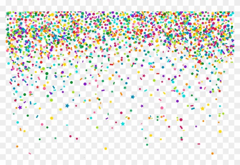 Confetti Transparent Clip Art Png Image.