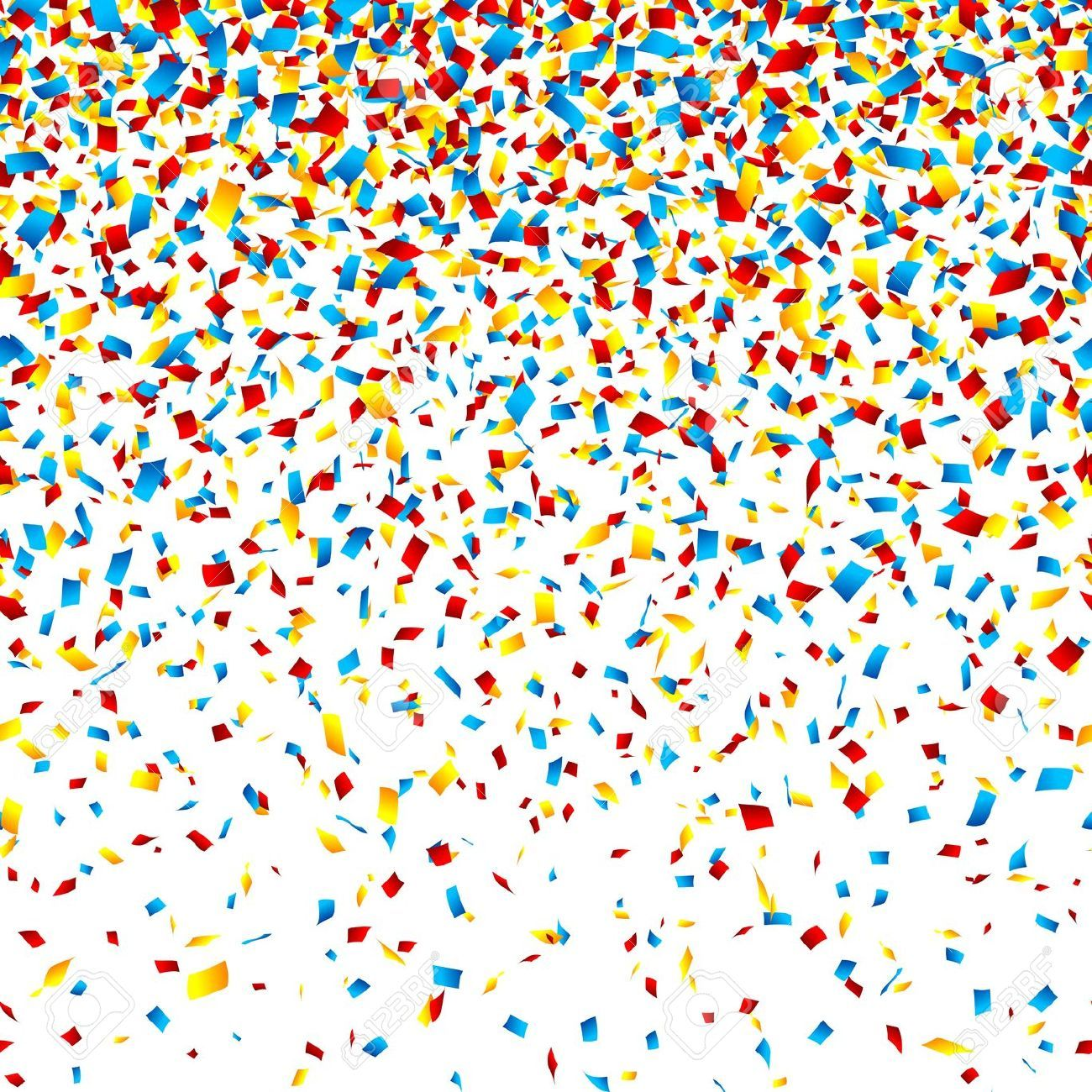 Confetti Background Stock Vector Illustration And Royalty Free.