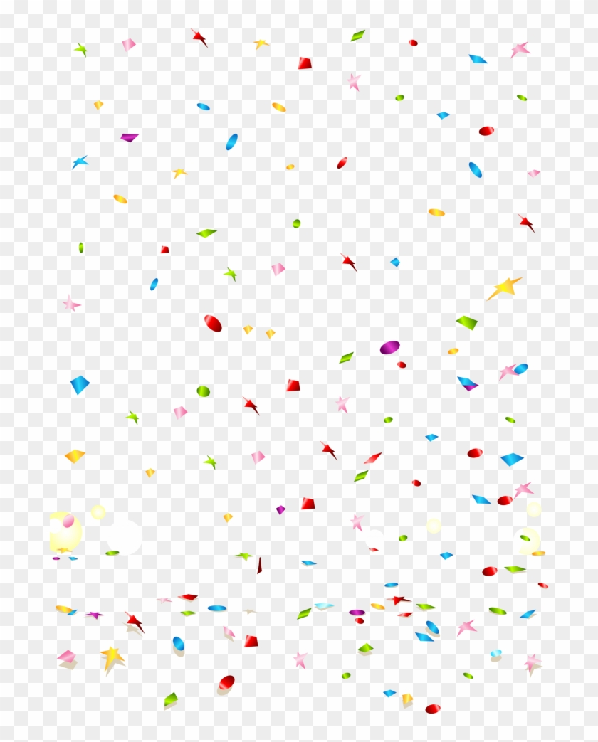Confetti Transparent Background Png.