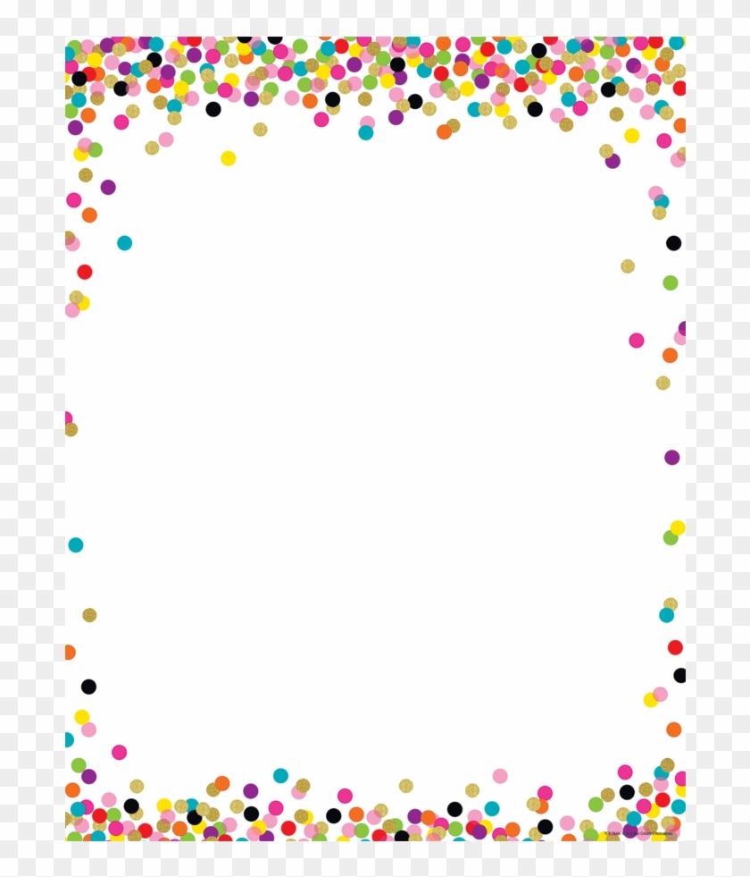 Confetti Border, HD Png Download.