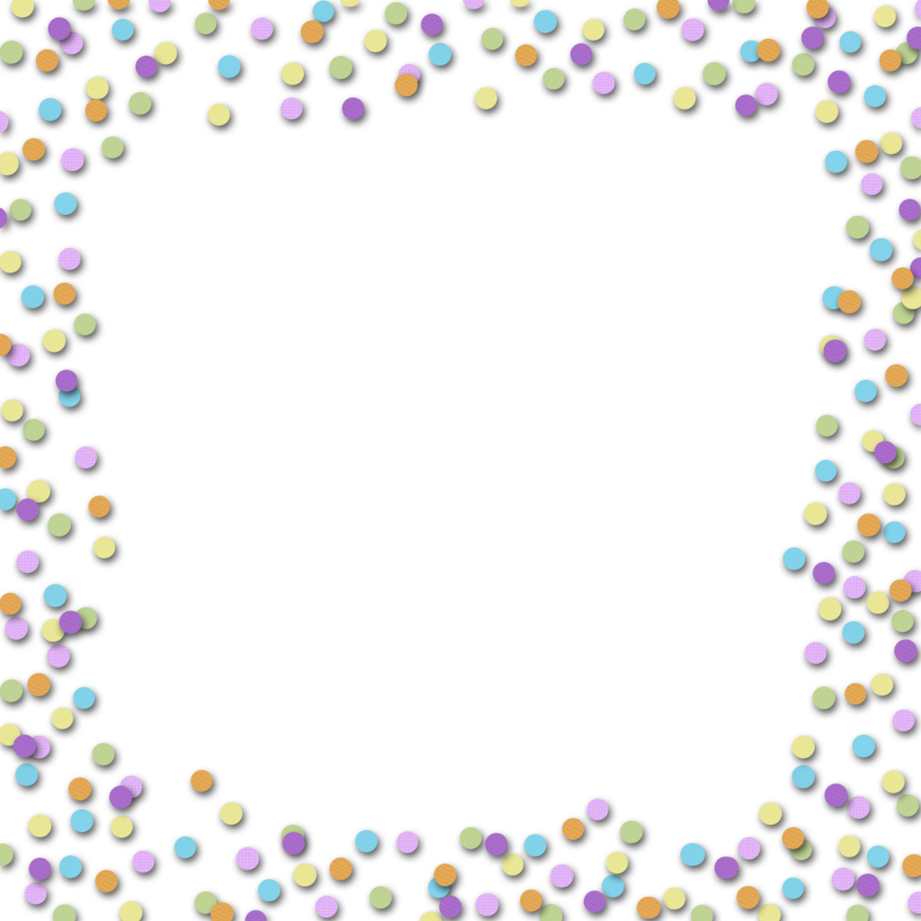 Download Confetti Border Kid Free Download Clipart PNG Free.