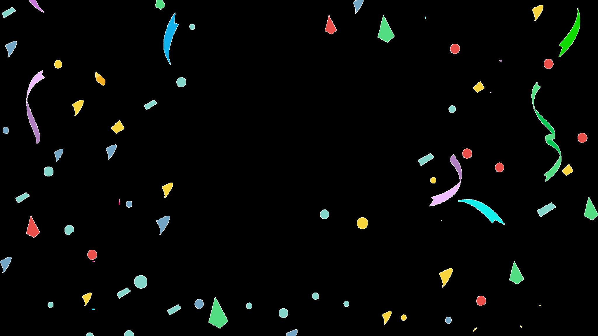 Portable Network Graphics Clip art Confetti Image Free.