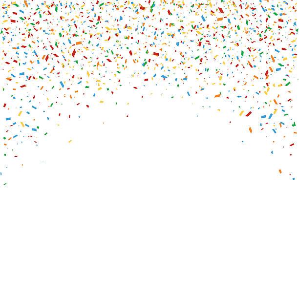 Top Confetti Clip Art Vector Graphics And Illustrations IStock.