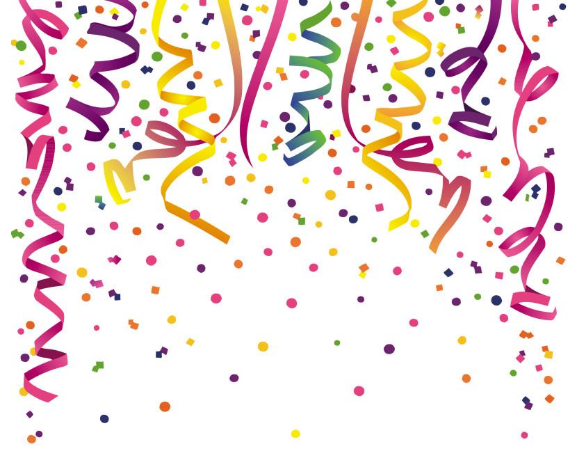 Confetti Clipart.