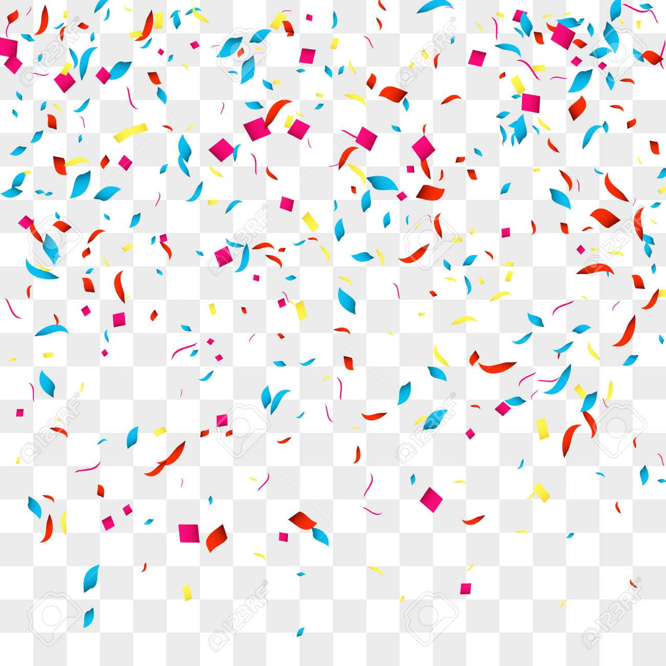 Confetti clipart transparent background 1 » Clipart Station.