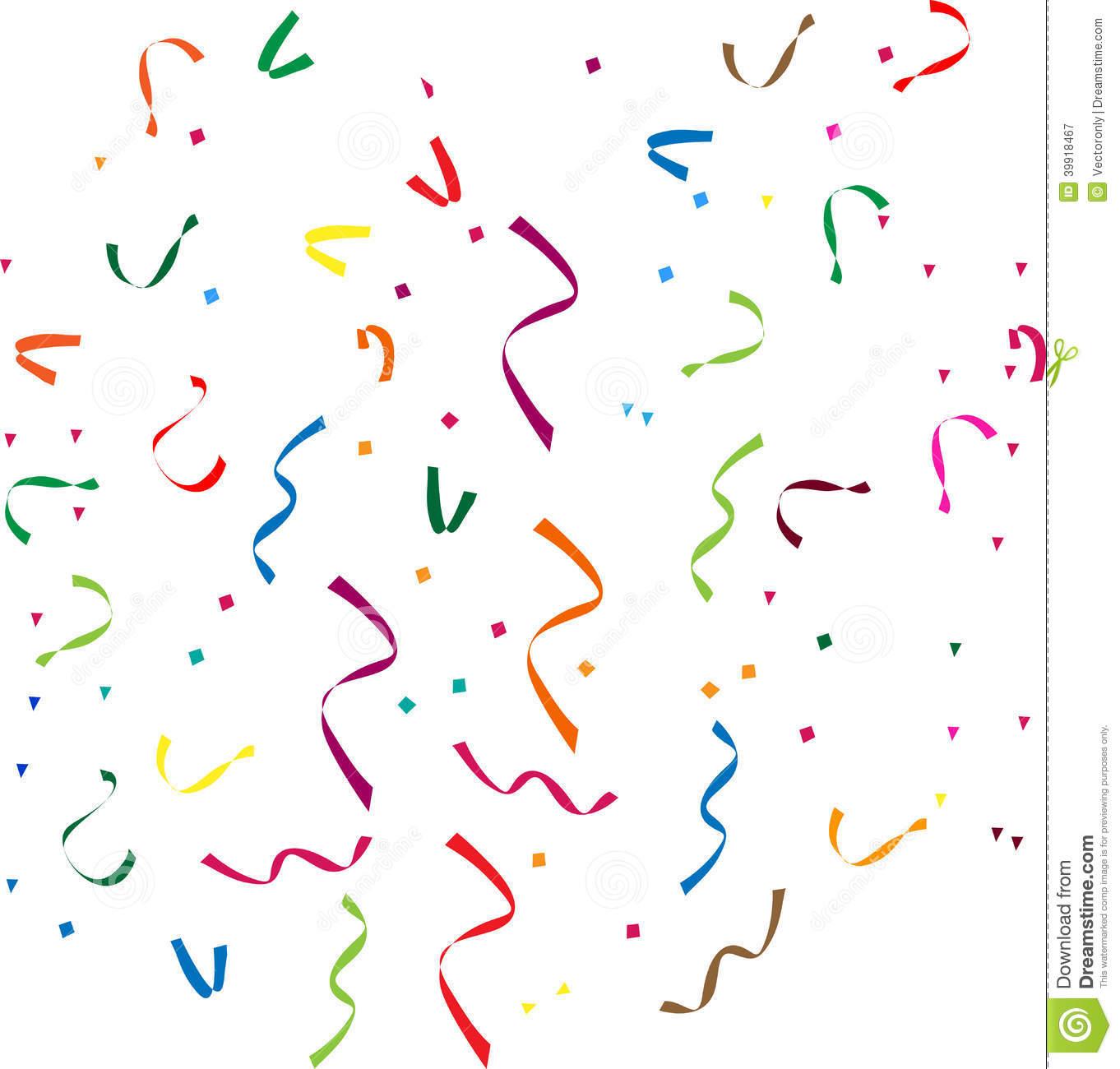 Confetti stock vector. Illustration of confetti, colored.
