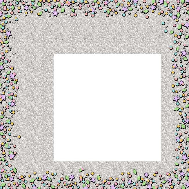 Pink Background Frame clipart.