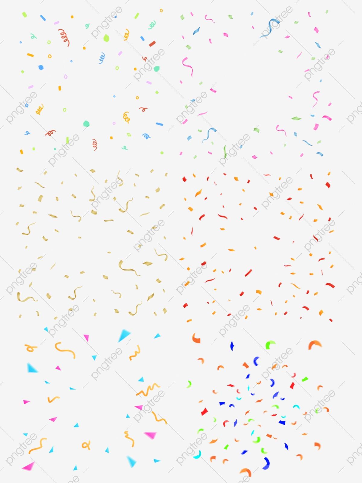 Confetti, Confetti Clipart, Multicolored PNG Transparent Clipart.