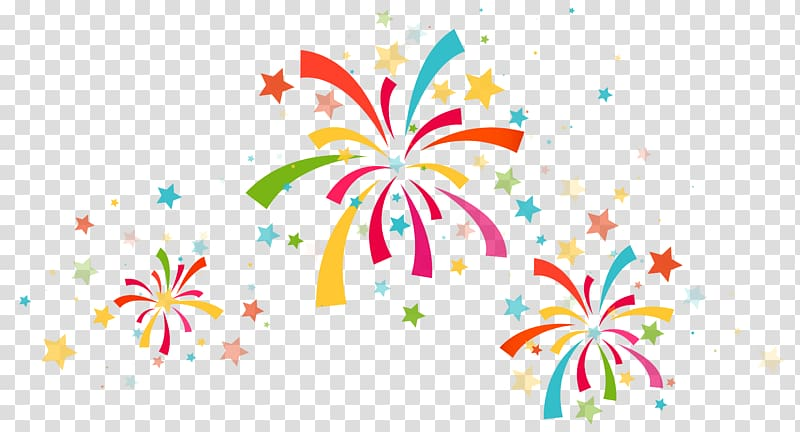 Confetti Party , Confetti Decoration , multicolored firework display.
