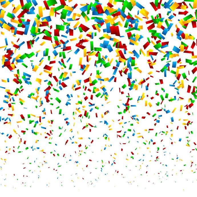 Confetti clipart free vector graphics freevectors.