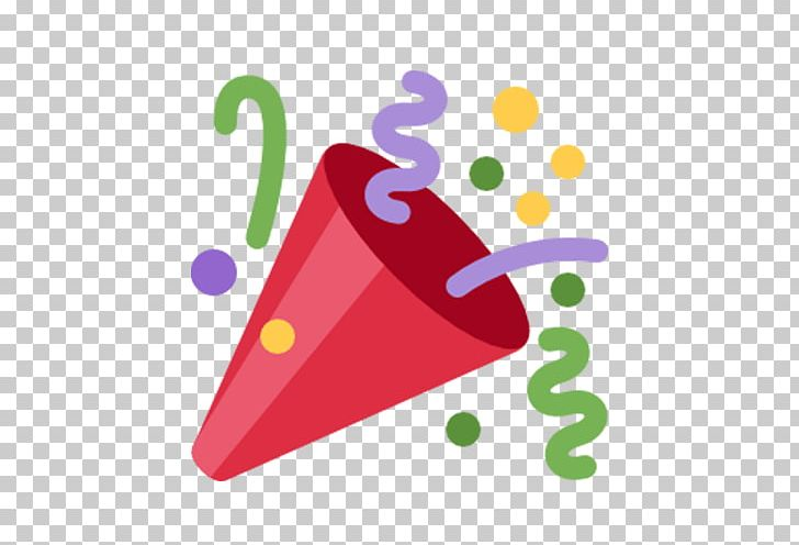 Emoji Party Popper Computer Icons Sticker PNG, Clipart.