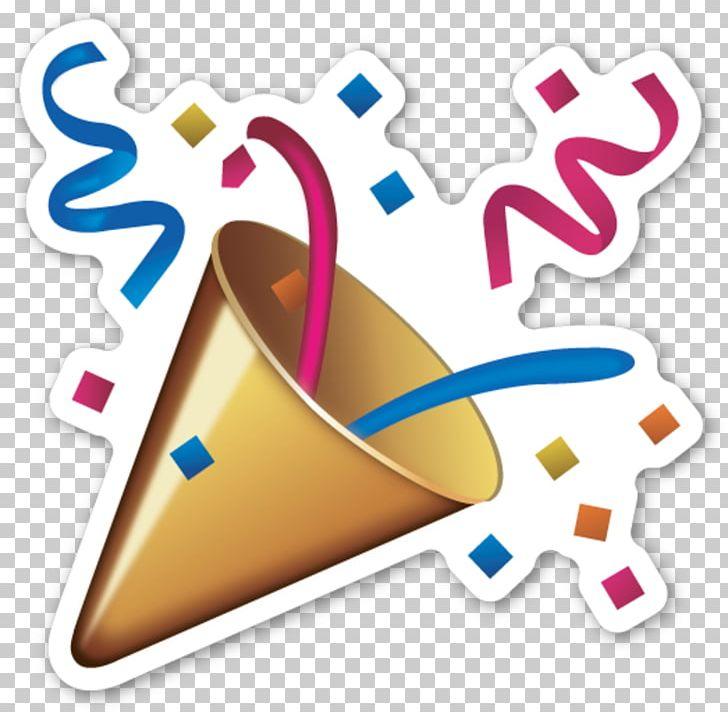 Emoji Sticker Confetti Party Emoticon PNG, Clipart, Confetti, Emoji.