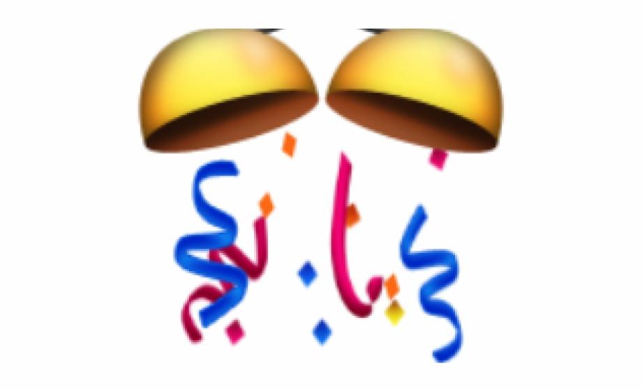 Confetti Ball Emoji.