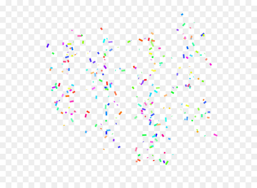 Confetti Pattern png download.