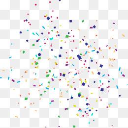 Confetti PNG, Gold Confetti, Colorful Confetti, Party Confetti PNG.