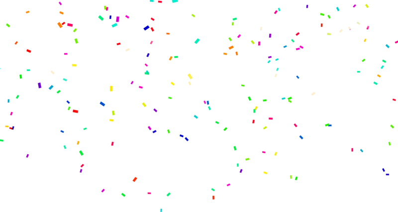 Download Free png Confetti PNG Photo.