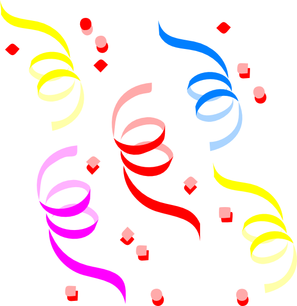Confetti Clip Art at Clker.com.