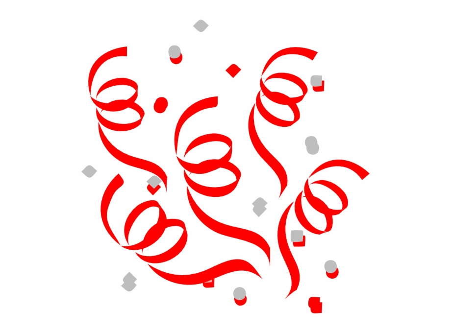 Red Confetti Explosion Clip Art At Vector Clip Art.