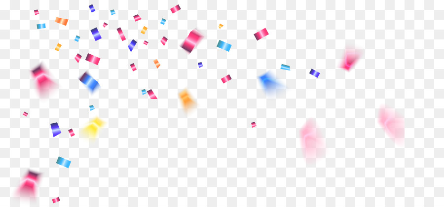Cartoon Confetti png download.