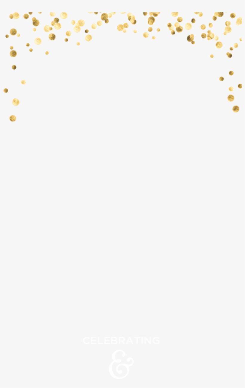 Gold Confetti.