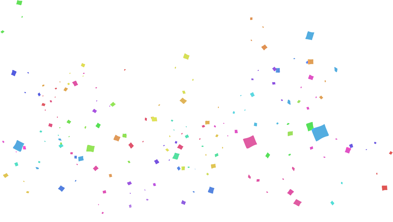 Confetti PNG Transparent.