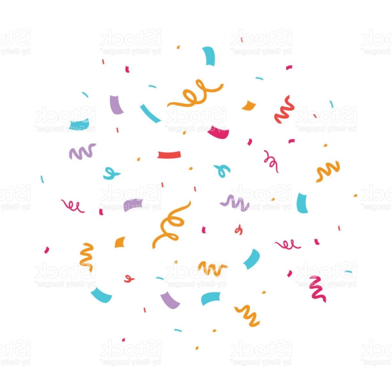Colorful Confetti Vector Illustration Gm.