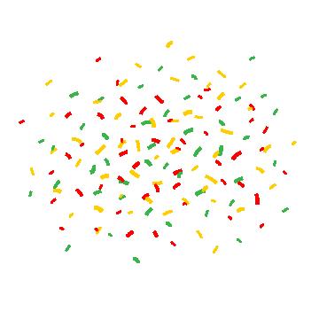 2019 的 Cartoon Confetti, Gift, Year, Happy PNG and Vector with.