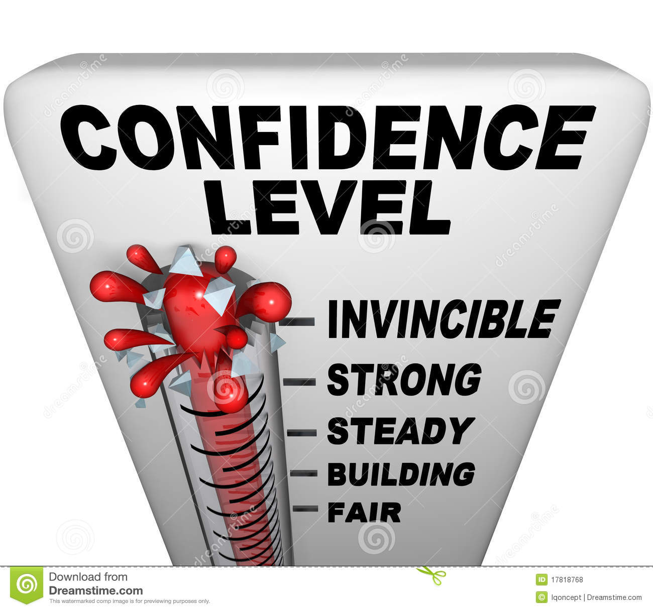 Confidence Clipart.