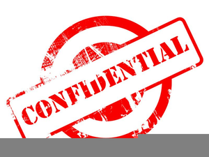 Privacy And Confidentiality Clipart.
