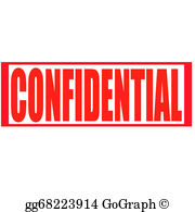Confidential Stamp Clip Art.