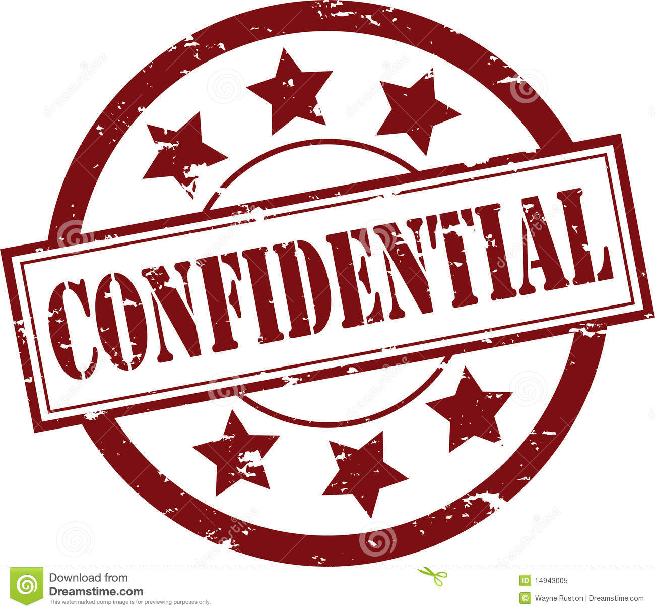 Free Confidential Clipart.