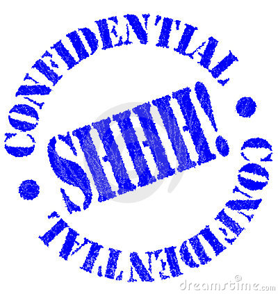 Confidential clipart free.