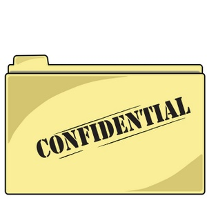 Confidential Clipart.