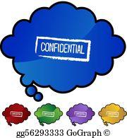 Confidential Clip Art.