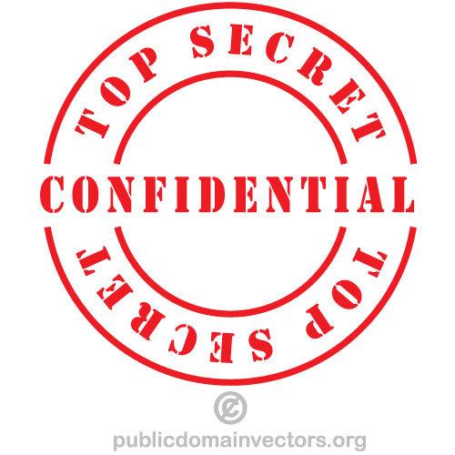 Confidential vector label.