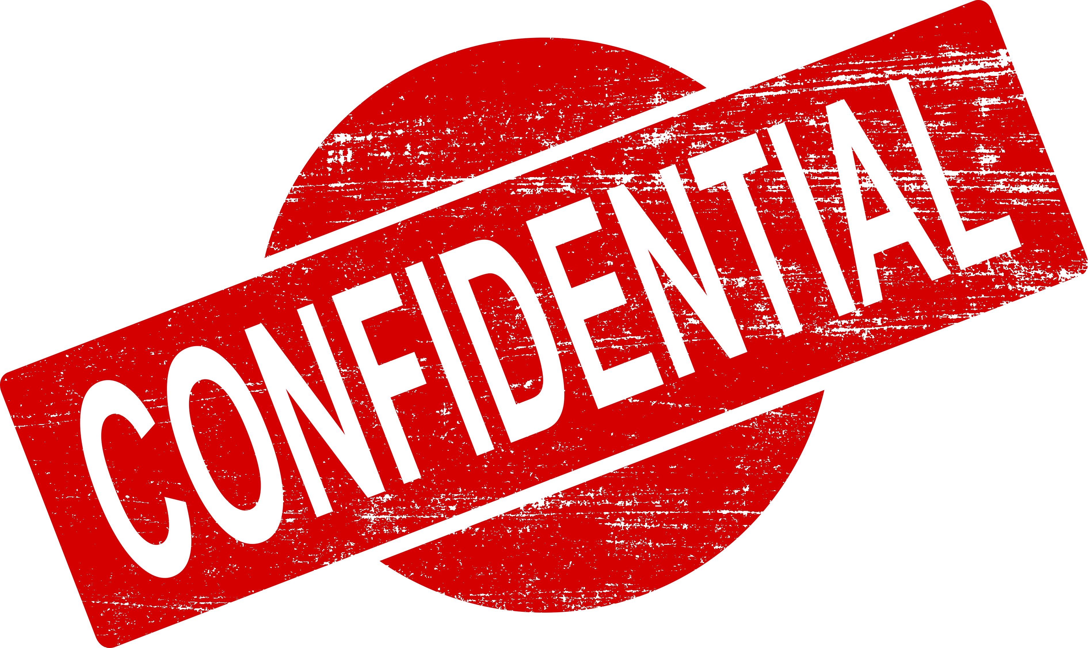 4 Confidential Stamp (PNG Transparent).