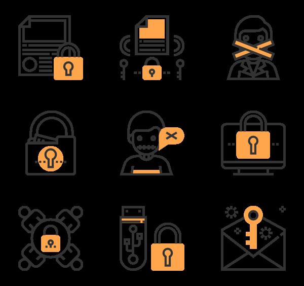7 confidential icon packs.