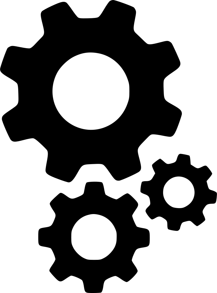 Gears Cogs Settings Options Setting Configure Configuration Svg Png.