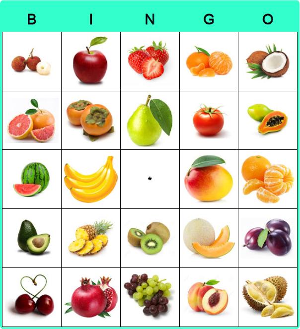Card bingo.