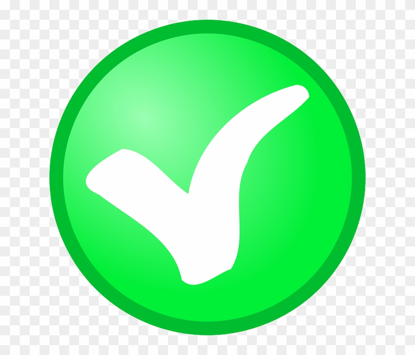 Check, Circle, Green, Checkmark, Confirm, Okay, Tick.