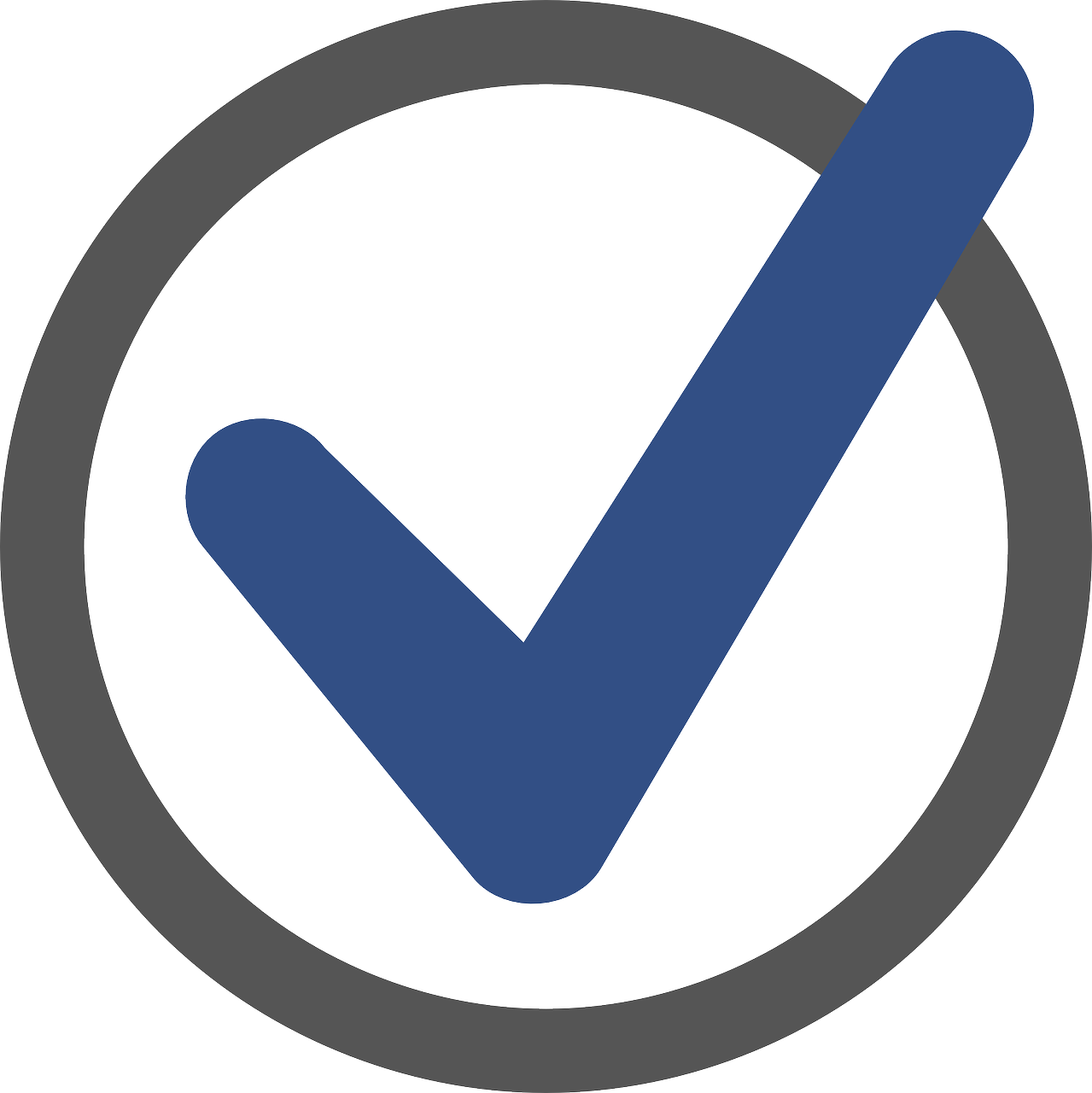 Ok Icon PNG Image.