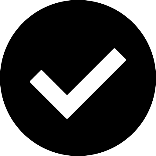 Checkbox, confirm, Approved, yes, success, checkmark, Check icon.