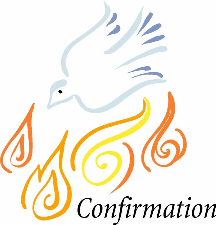 Confirmation Clipart.