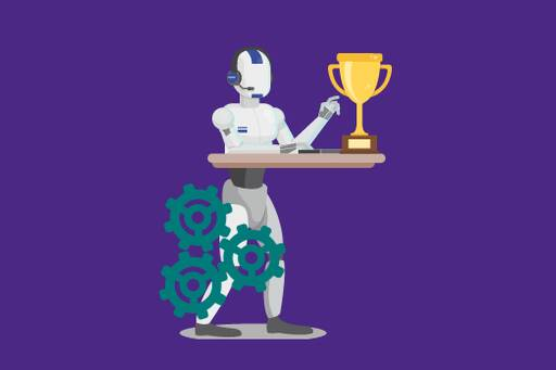The robot of the year award.